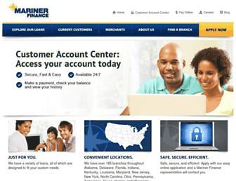 marinerfinance.com screenshot