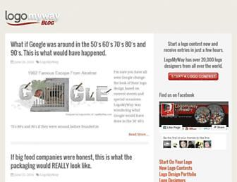 blog.logomyway.com screenshot