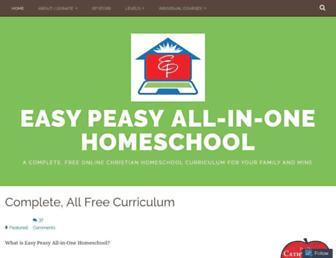 Thumbshot of Allinonehomeschool.com