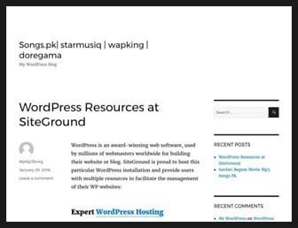 songspksongspk.info screenshot