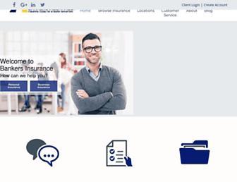 bankersinsurance.net screenshot
