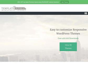 templateexpress.com screenshot