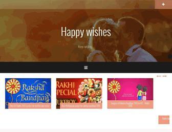 happy-wishes.net screenshot
