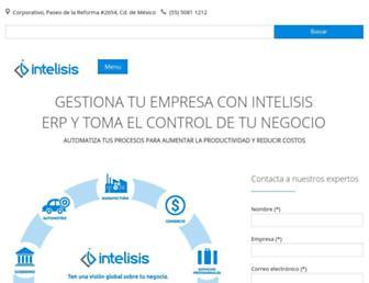 intelisis.com screenshot