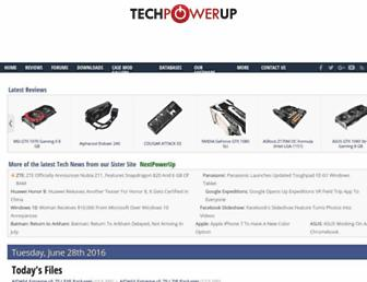 techpowerup.com screenshot