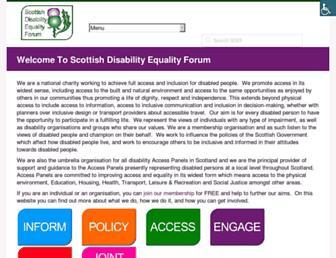 sdef.org.uk screenshot