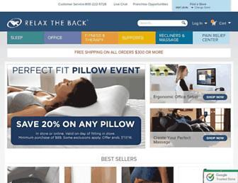 Thumbshot of Relaxtheback.com