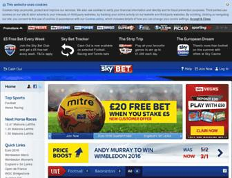 Thumbshot of Skybet.com