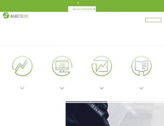 Thumbshot of Imarketslive.com