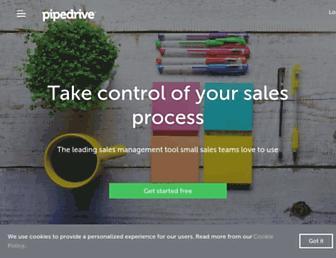 pipedrive.com screenshot