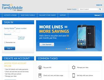 Thumbshot of Myfamilymobile.com
