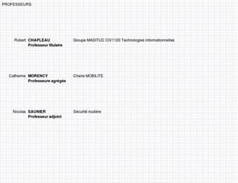transport.polymtl.ca screenshot