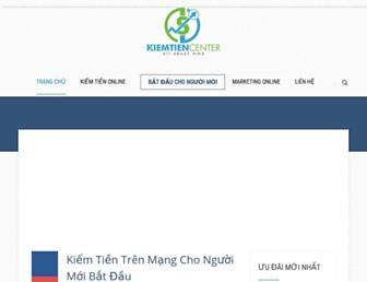 kiemtiencenter.com screenshot