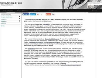 computerstepbystep.com screenshot