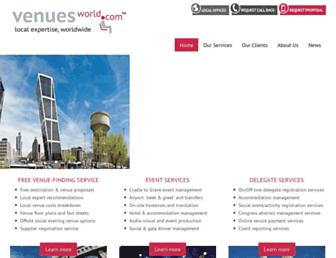 venuesworld.com screenshot