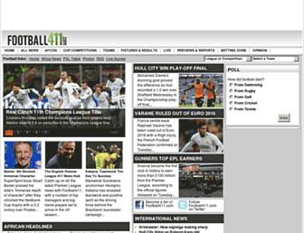 Thumbshot of Football411.com