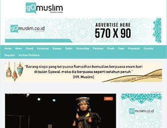 gomuslim.co.id screenshot