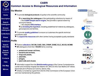 cabri.org screenshot