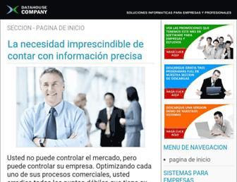 datahousecompany.com.ar screenshot