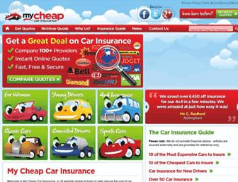 Thumbshot of Mycheapcarinsurance.co.uk