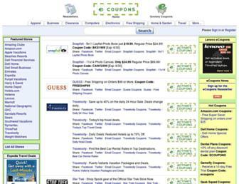 Thumbshot of Ecoupons.com