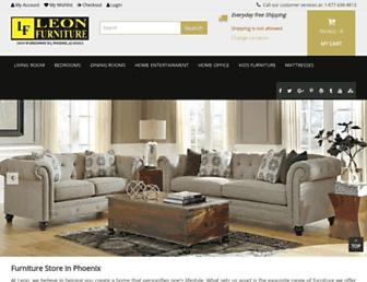 Thumbshot of Leonfurniturestore.com