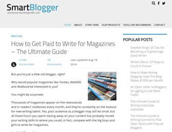 smartblogger.com screenshot