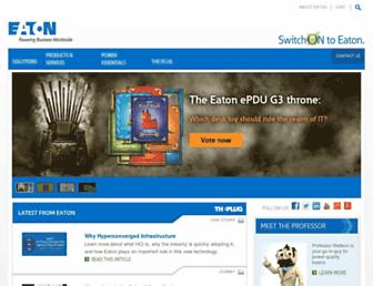 switchon.eaton.com screenshot