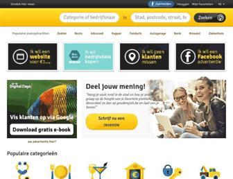 goudengids.be screenshot