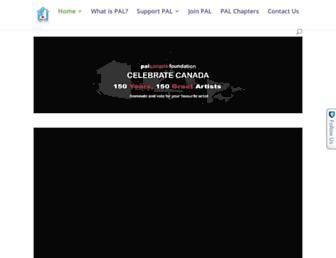 palcanada.org screenshot