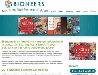 Thumbshot of Bioneers.org