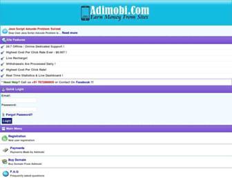 adimobi.com screenshot