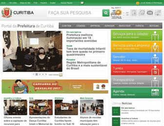 curitiba.pr.gov.br screenshot