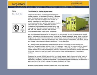 cargostore.com screenshot