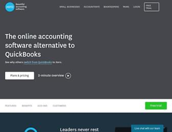 Thumbshot of Xero.com