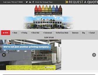 lasvegascolor.com screenshot