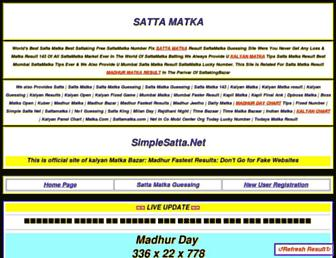 simplesatta.net screenshot
