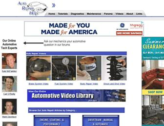 auto-repair-help.com screenshot