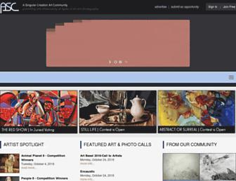asingularcreation.com screenshot