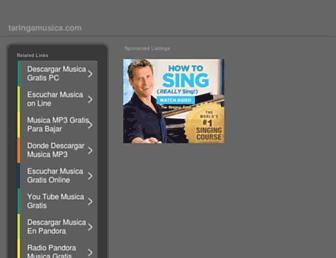 taringamusica.com screenshot