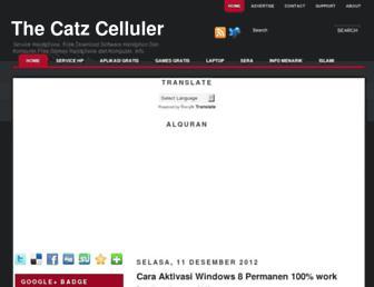 thecatz-cell.blogspot.com screenshot