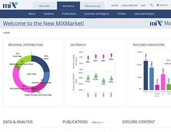 Thumbshot of Mixmarket.org