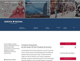 europaregina.eu screenshot