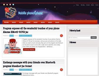 mobile-phonexphone.blogspot.com screenshot