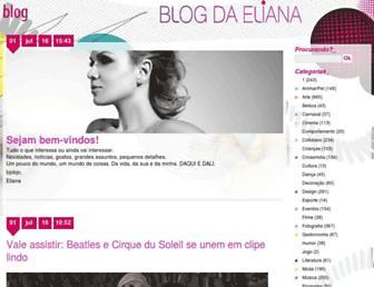 blogdaeliana.com.br screenshot