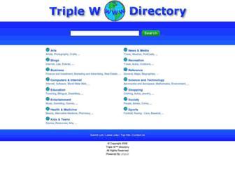 Thumbshot of Triplewdirectory.com