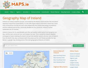 maps.ie screenshot