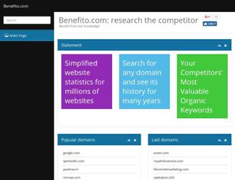 Thumbshot of Benefito.com
