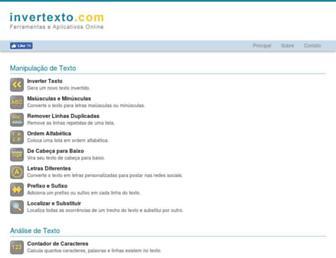 invertexto.com screenshot
