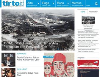 tirto.id screenshot